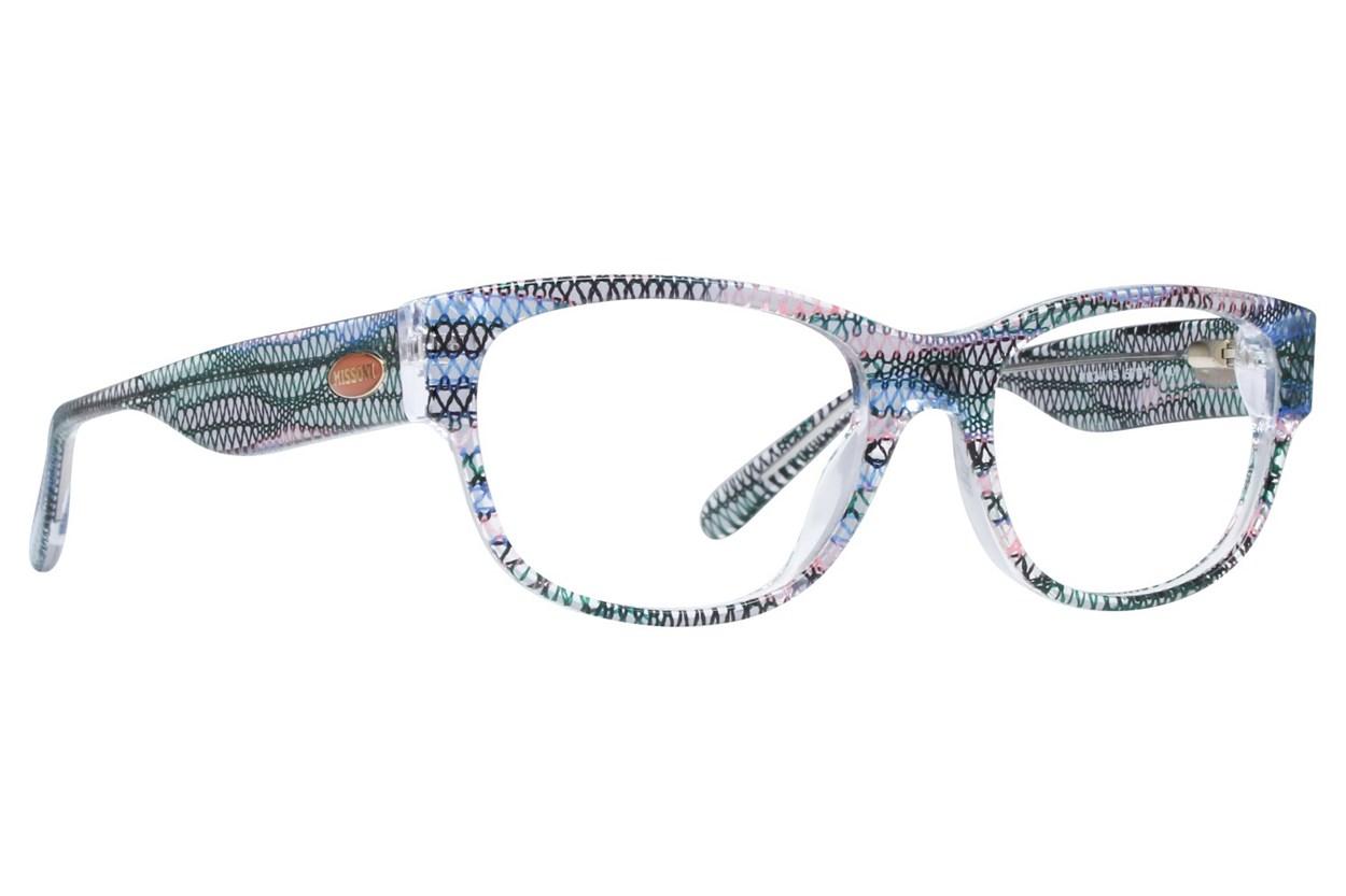 Missoni MI334V Blue Glasses
