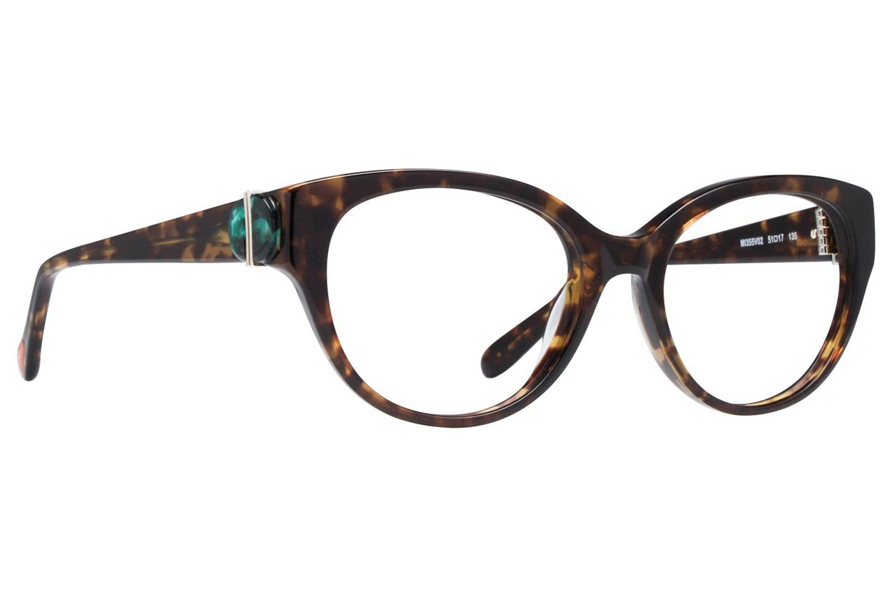 Missoni MI355V Tortoise Glasses