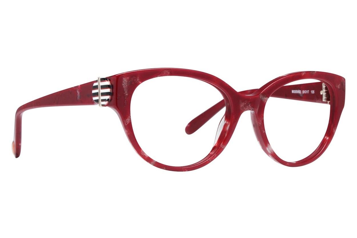 Missoni MI355V Red Glasses