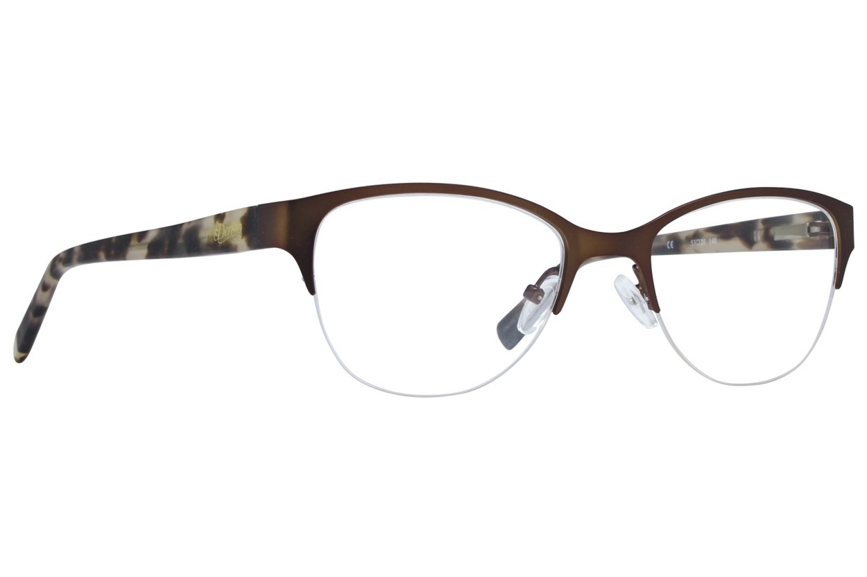 Dereon DOV532 Eyeglasses - Brown