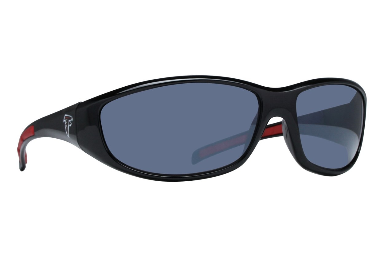 NFL Atlanta Falcons Wrap Sunglasses Black Sunglasses