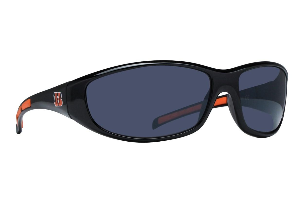 NFL Cincinnati Bengals Wrap Sunglasses Black Sunglasses