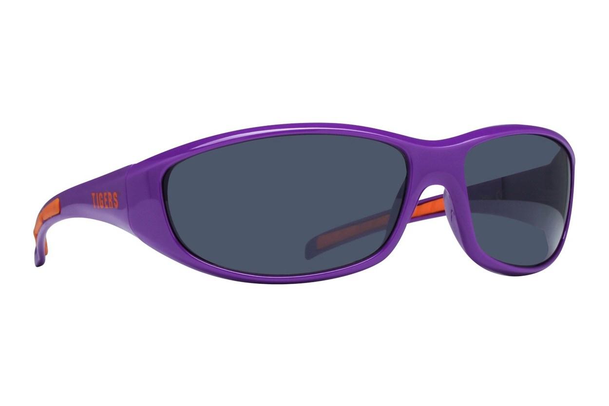 NCAA Clemson Tigers Wrap Sunglasses Purple Sunglasses