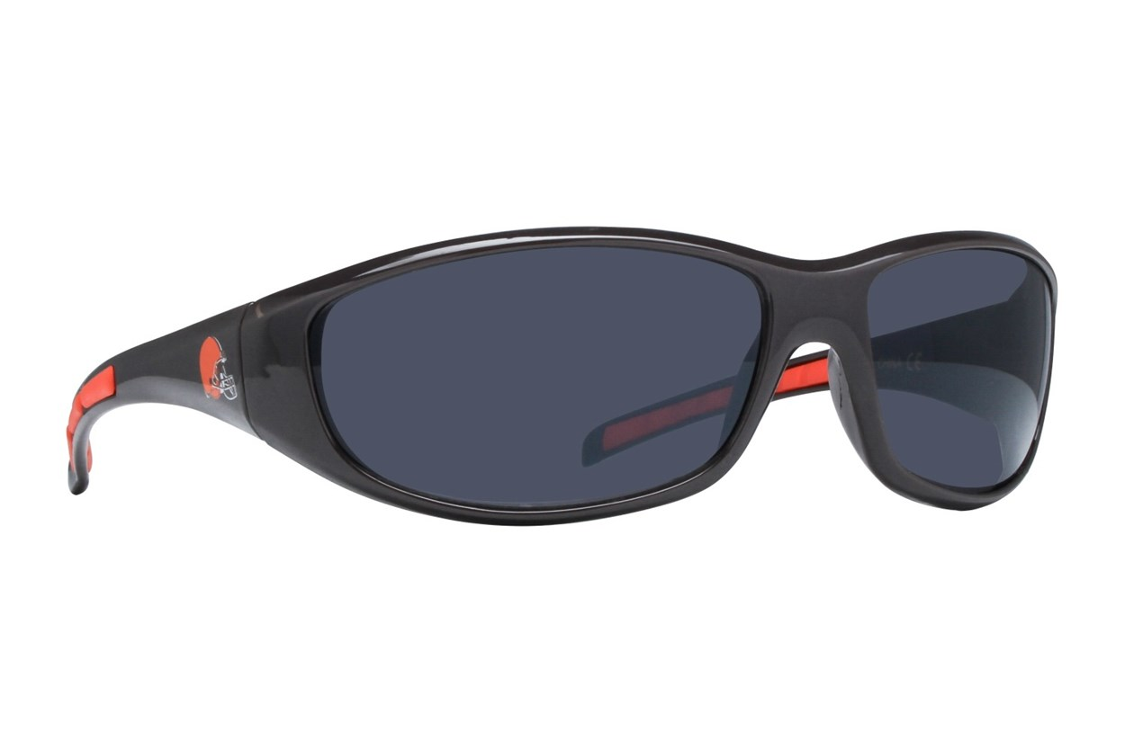 NFL Cleveland Browns Wrap Sunglasses Brown Sunglasses