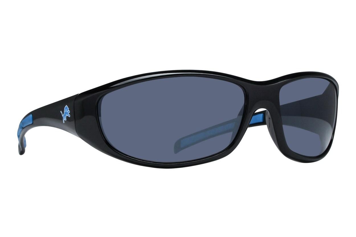 NFL Detroit Lions Wrap Sunglasses Black Sunglasses