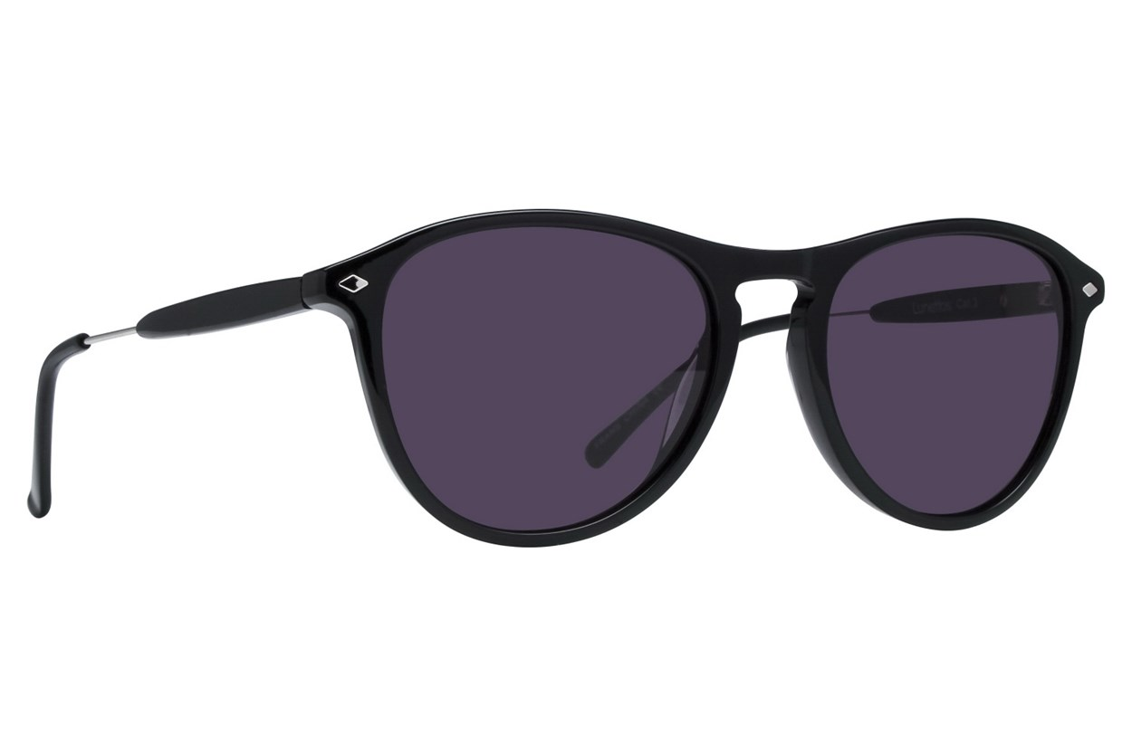 Lunettos Emery Black Sunglasses