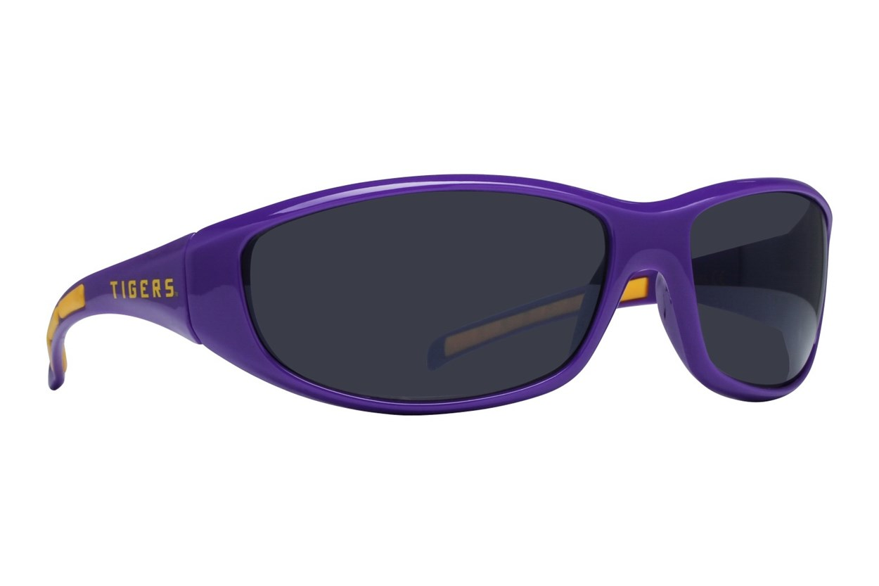 NCAA LSU Tigers Wrap Sunglasses Purple Sunglasses