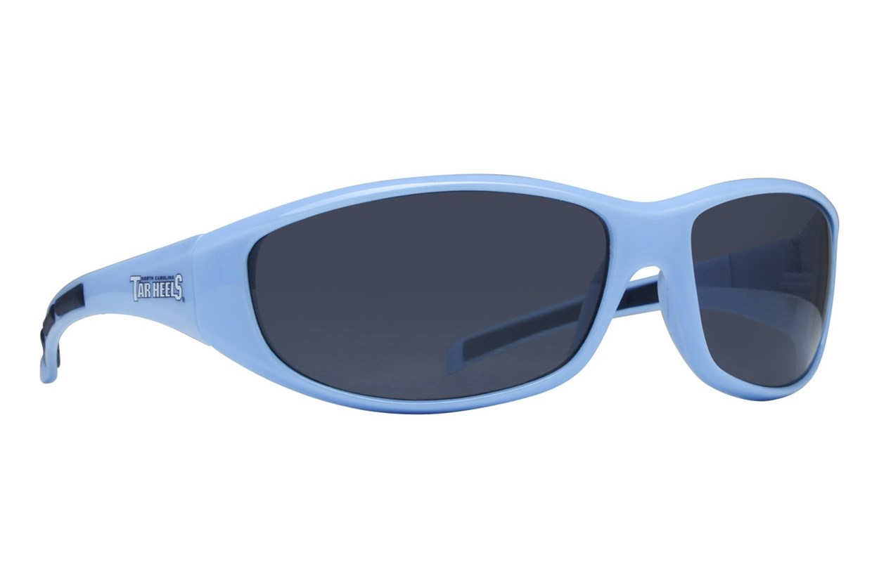 NCAA North Carolina Tar Heels Wrap Sunglasses Blue Sunglasses