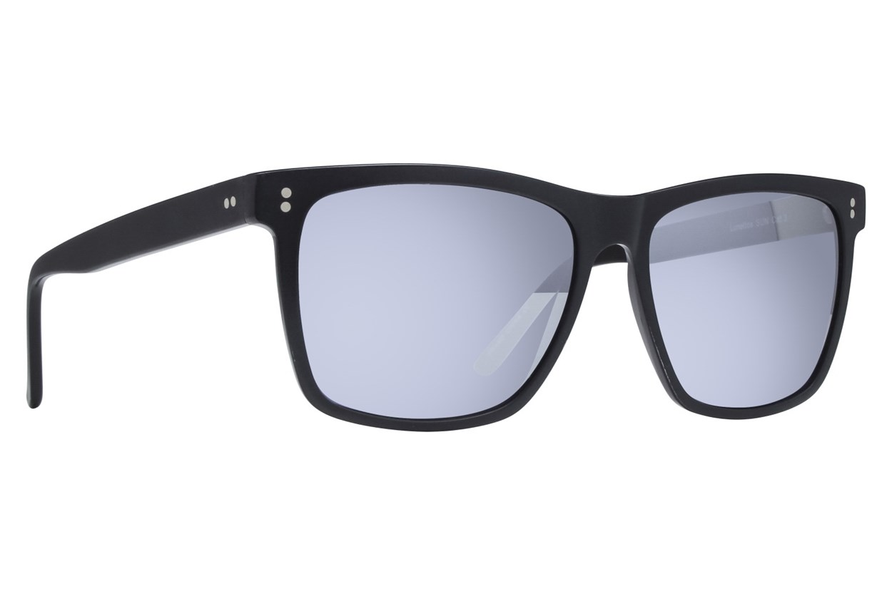 Lunettos Neil Black Sunglasses