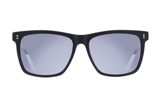 Lunettos Neil Black Sunglasses