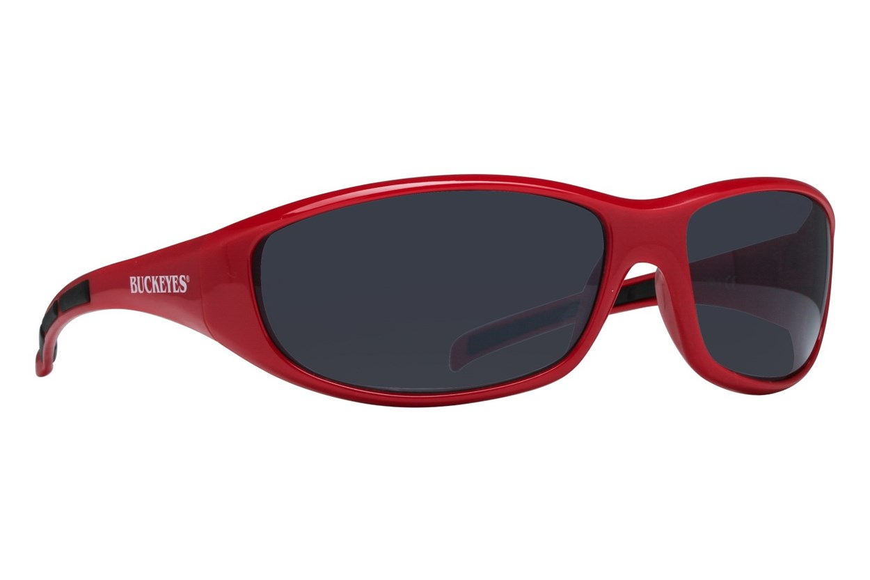 NCAA Ohio State Buckeyes Wrap Sunglasses Red Sunglasses