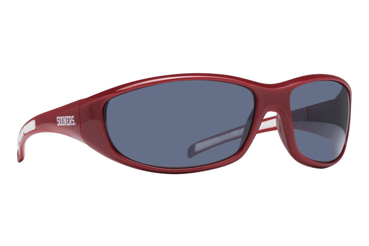 NCAA Oklahoma Sooners Wrap Sunglasses Red Sunglasses