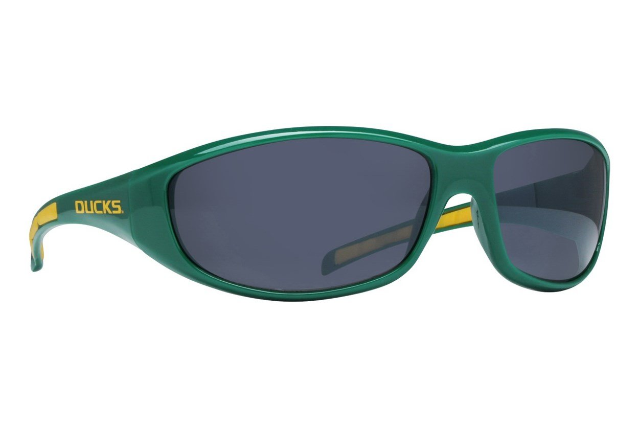 NCAA Oregon Ducks Wrap Sunglasses Green Sunglasses