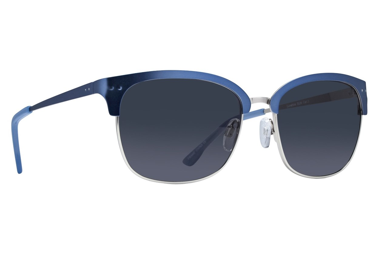 Lunettos Phoenix Blue Sunglasses