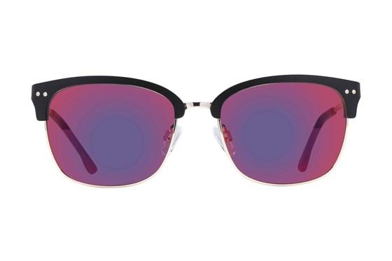 Lunettos Phoenix Black Sunglasses