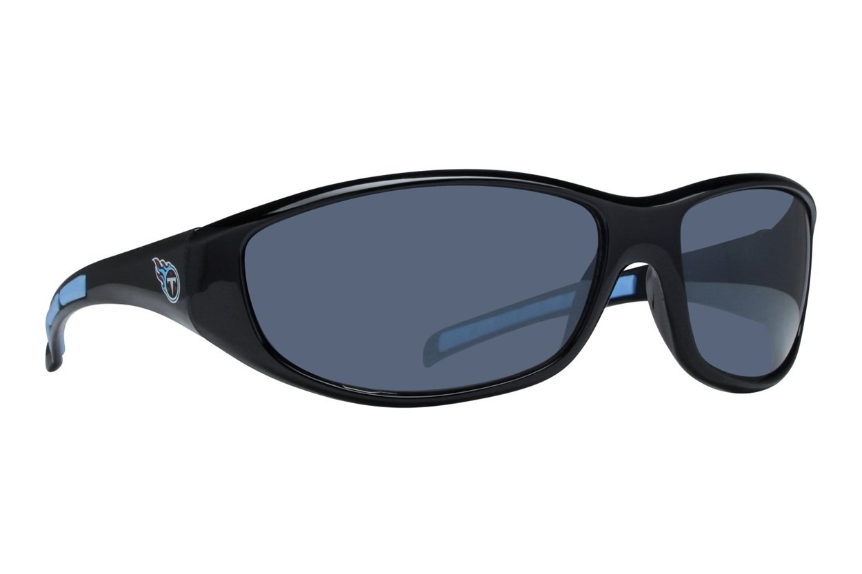 NFL Tennessee Titans Wrap Sunglasses Black Sunglasses