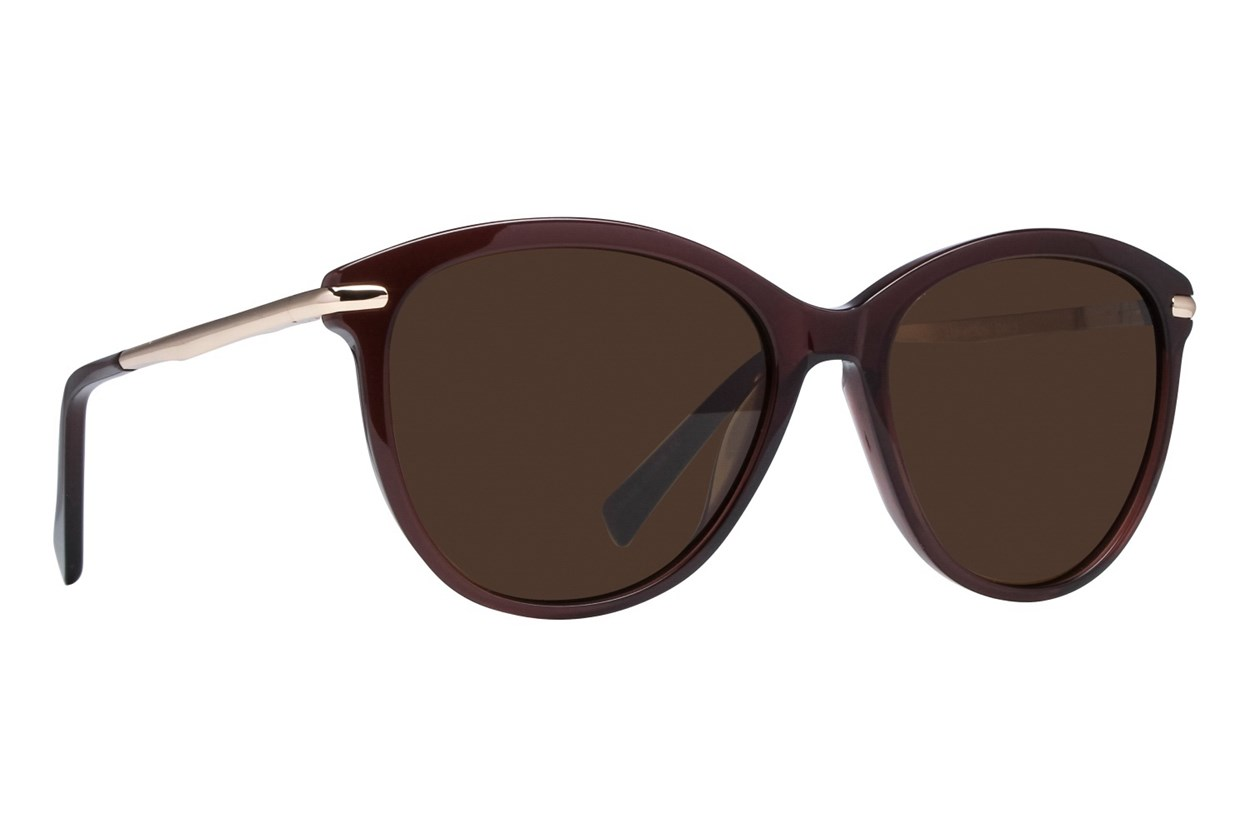 Lunettos Valentina Sunglasses - Brown