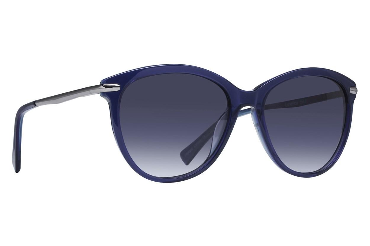 Lunettos Valentina Blue Sunglasses