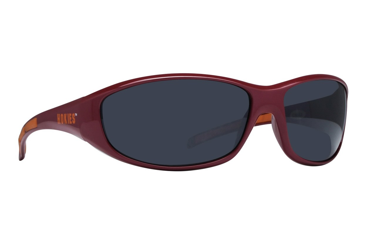 NCAA Virginia Tech Hokies Wrap Sunglasses Red Sunglasses