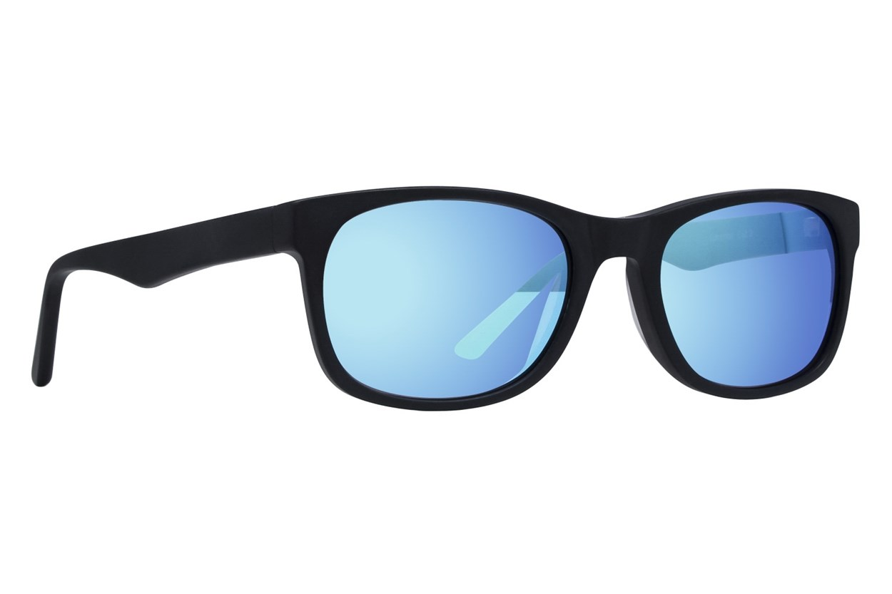 Lunettos Atlas Black Sunglasses