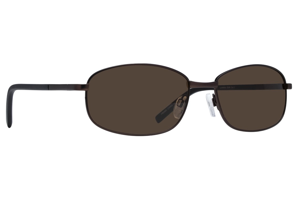 Lunettos Buzz Sunglasses - Brown