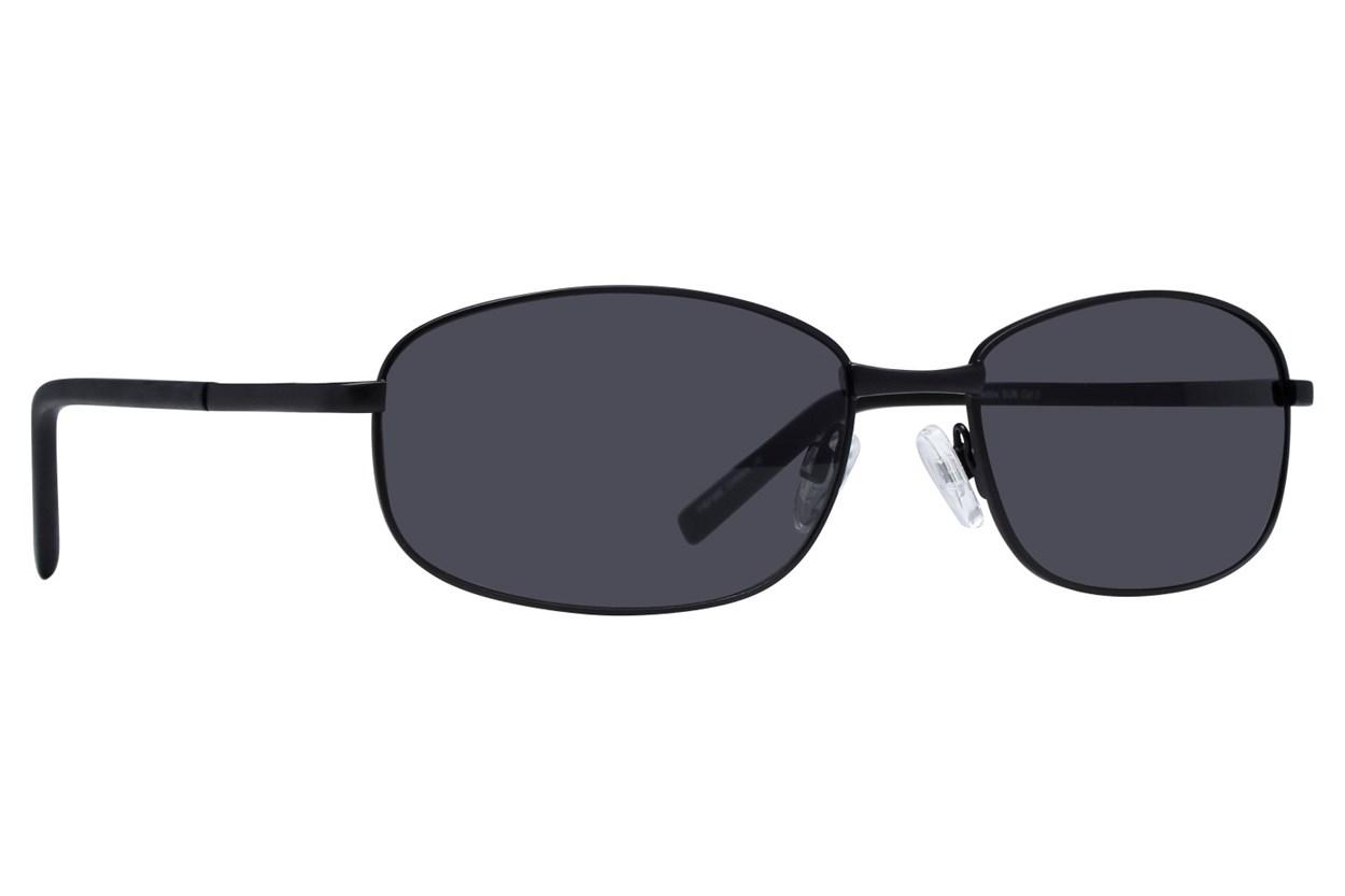 Lunettos Buzz Black Sunglasses