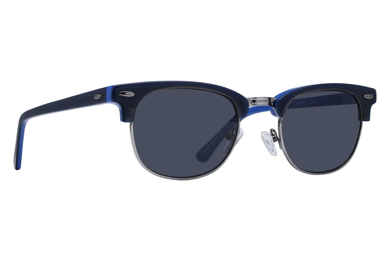 Lunettos Iris Blue Sunglasses