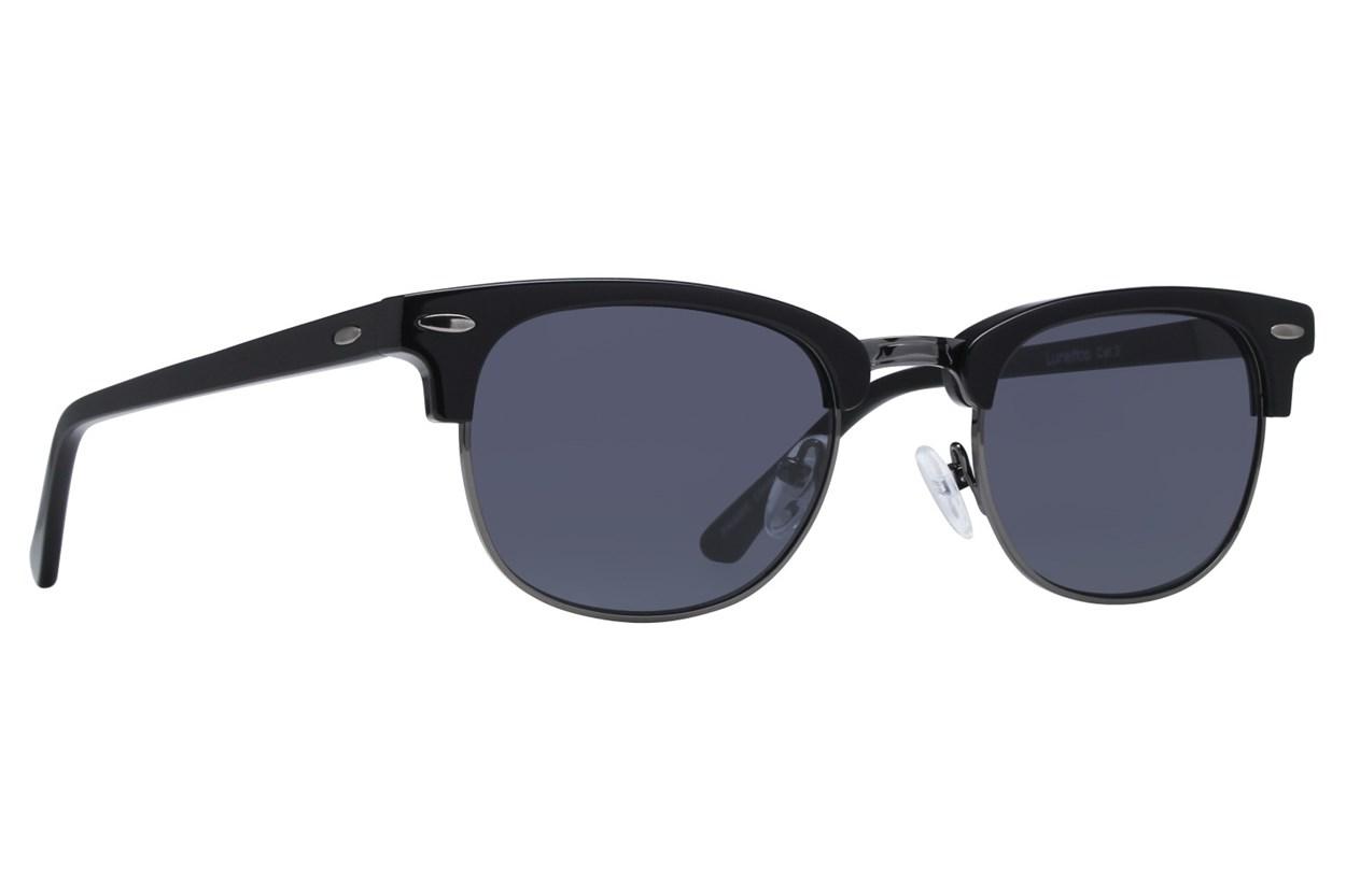 Lunettos Iris Black Sunglasses