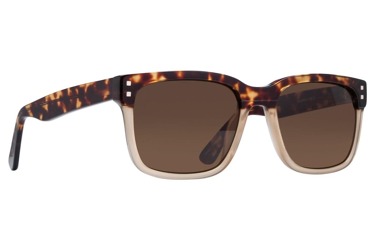 Lunettos Lovell Tortoise Sunglasses
