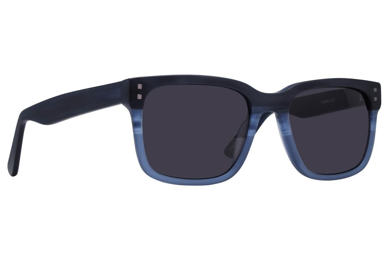 Lunettos Lovell Blue Sunglasses
