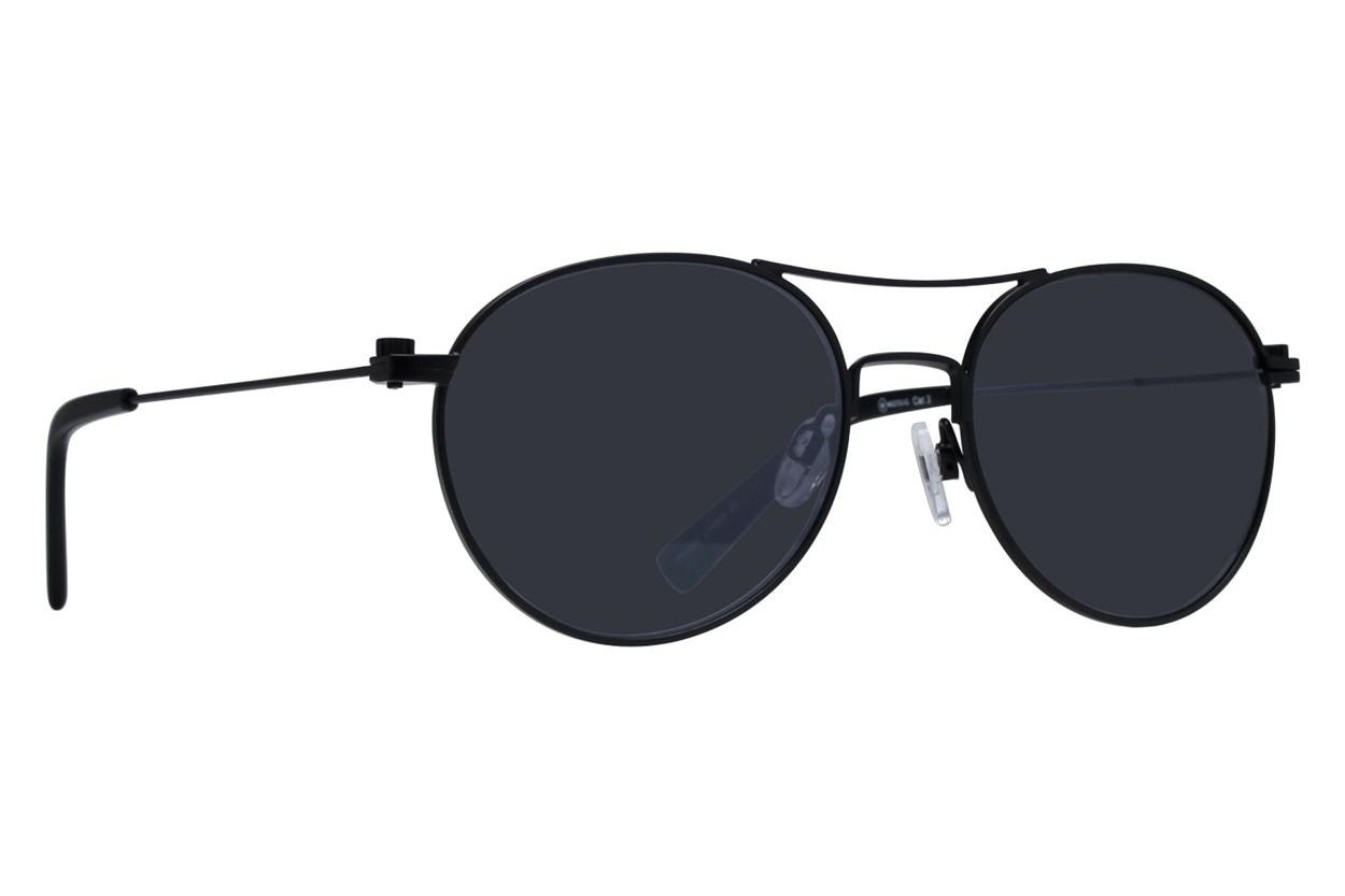 Westend Short North Black Sunglasses