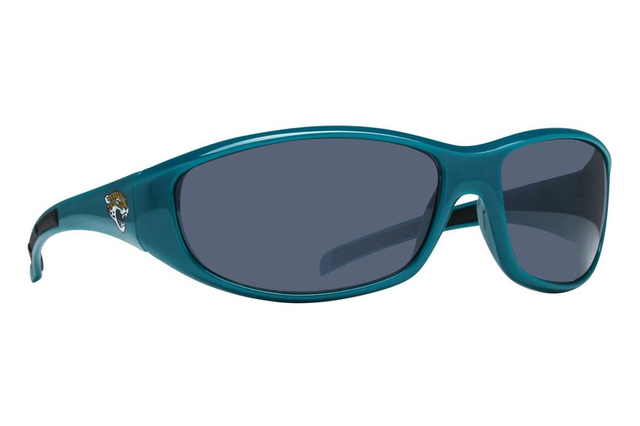 NFL Jacksonville Jaguars Wrap Sunglasses Green Sunglasses