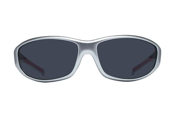 NFL New England Patriots Wrap Sunglasses Silver Sunglasses
