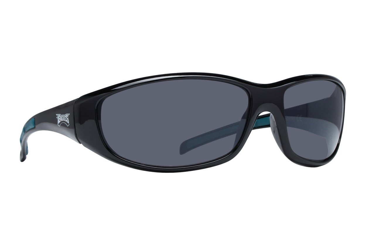 NFL Philadelphia Eagles Wrap Sunglasses Black Sunglasses