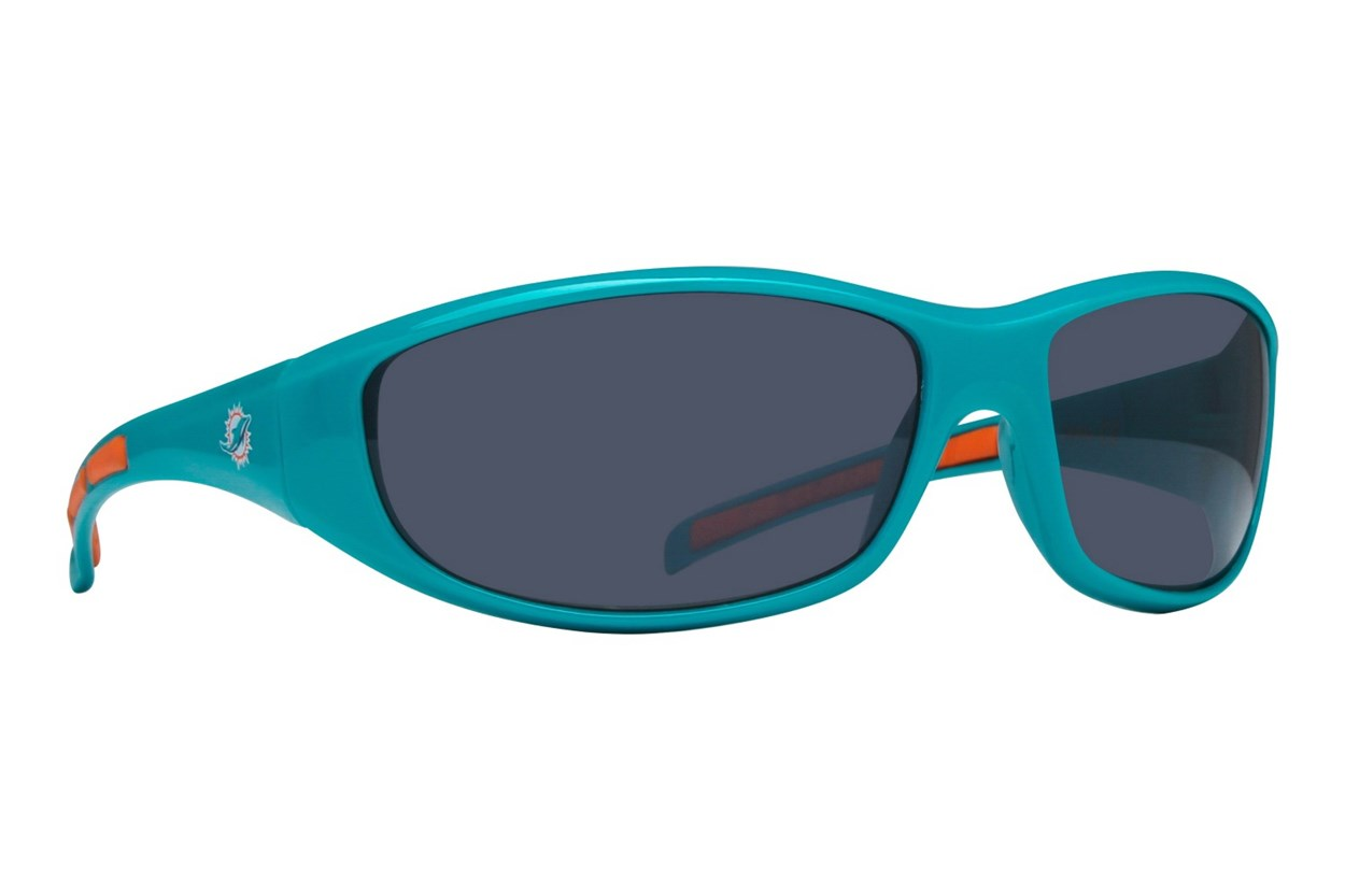 NFL Miami Dolphins Wrap Sunglasses Turquoise Sunglasses