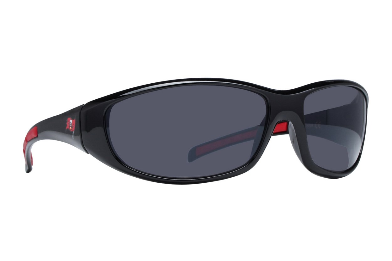 NFL Tampa Bay Buccaneers Wrap Sunglasses Black Sunglasses