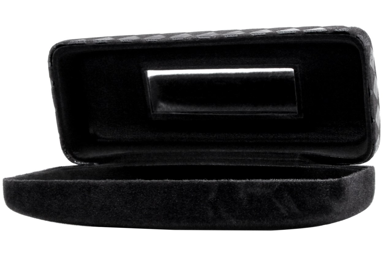 Alternate Image 1 - Evolutioneyes Velvet Diamond Eyeglass Case Black GlassesCases