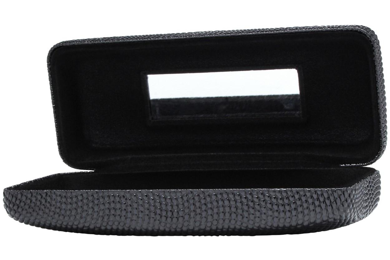 Alternate Image 1 - Evolutioneyes Textured Pebble Eyeglass Case Black GlassesCases