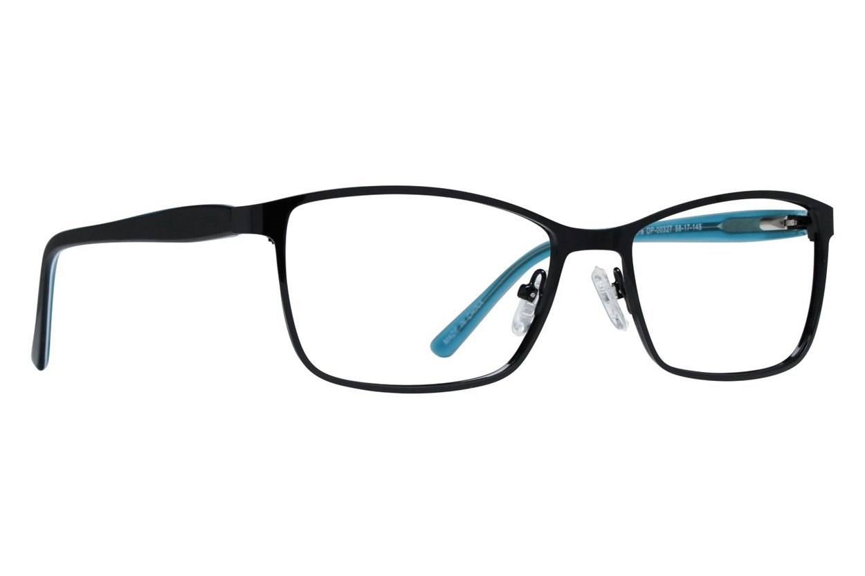 Dea Extended Size Accera Black Glasses