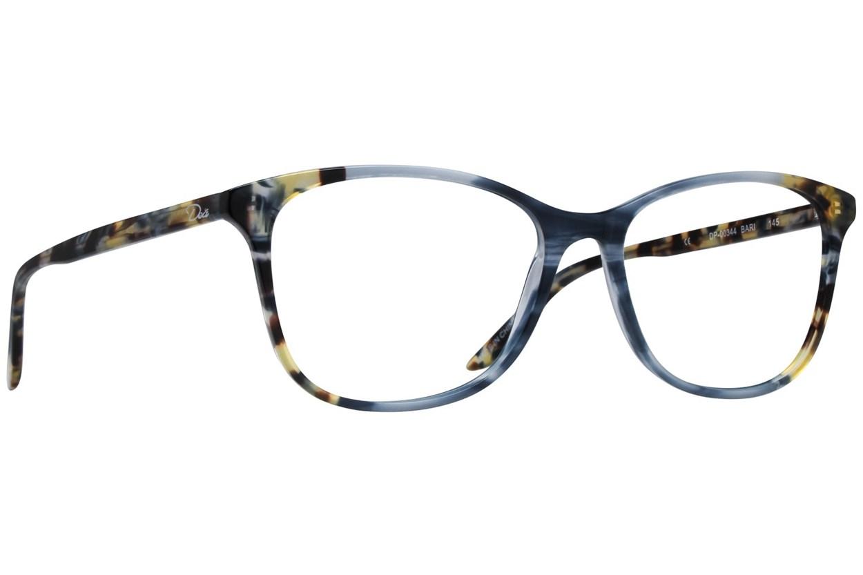 Dea Extended Size Bari Blue Glasses