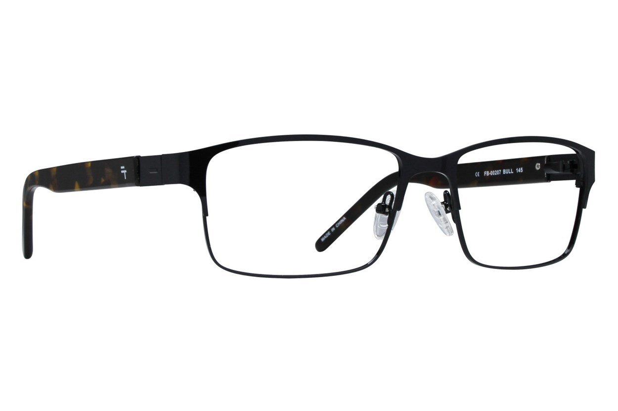 Fatheadz Bull Black Glasses