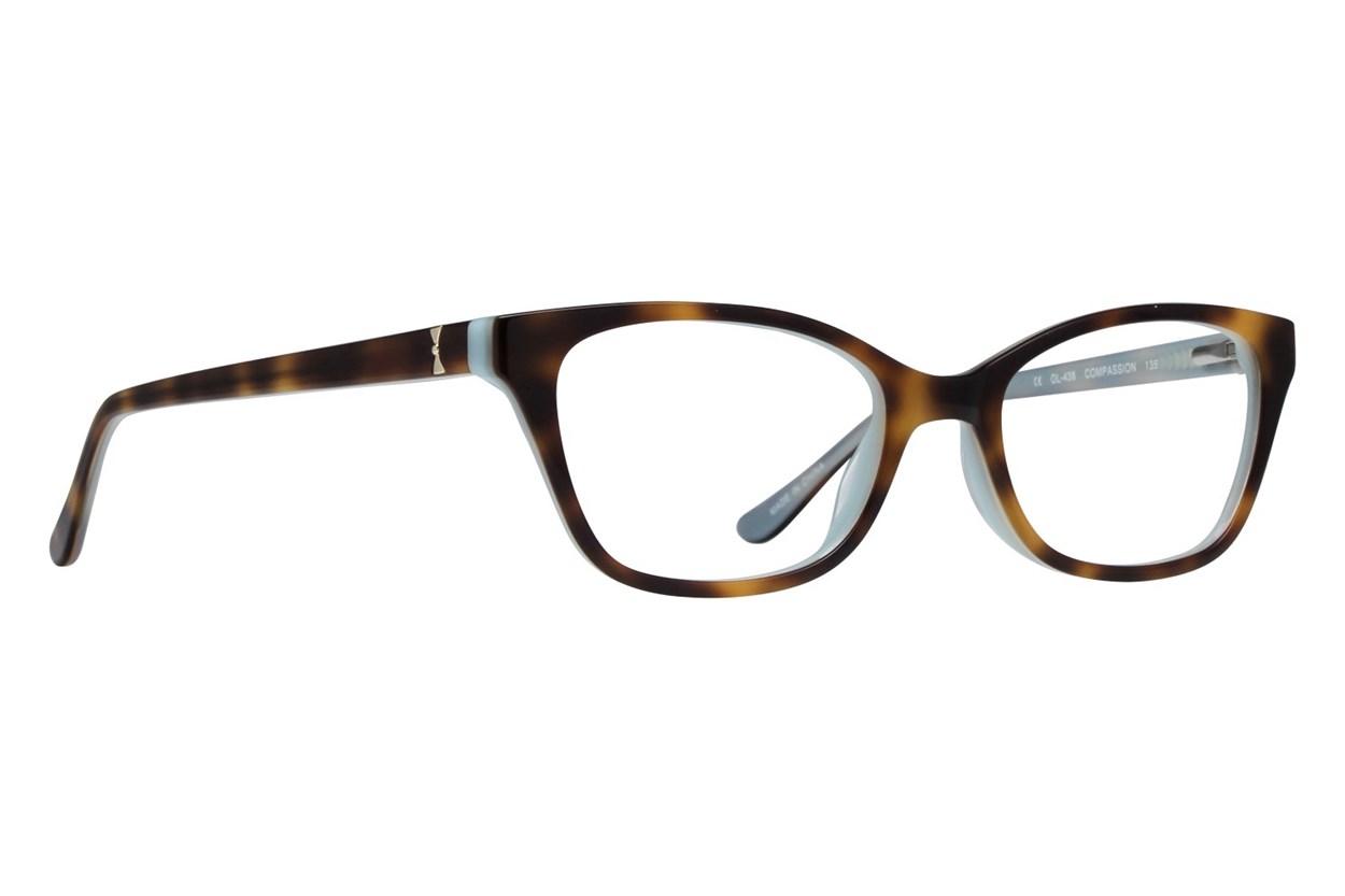 One Love Petite Compassion Blue Glasses