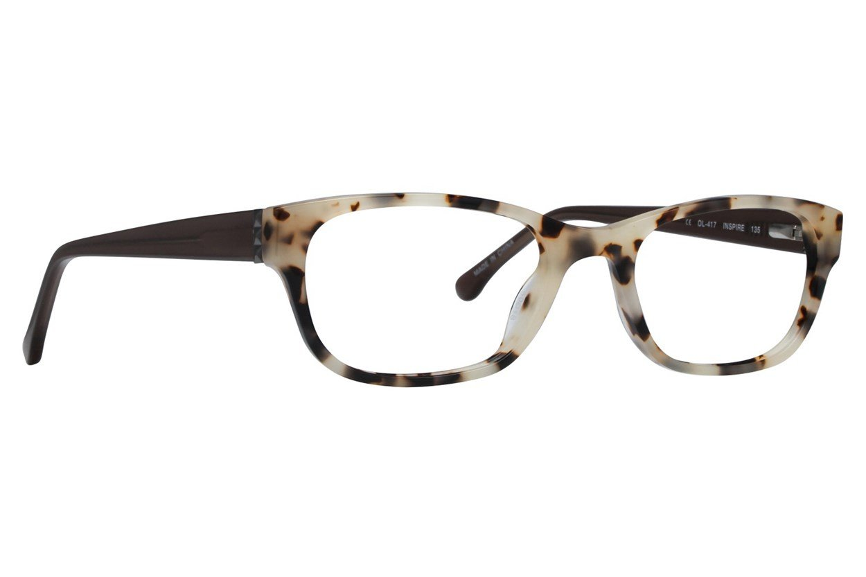 One Love Petite Inspire Brown Glasses