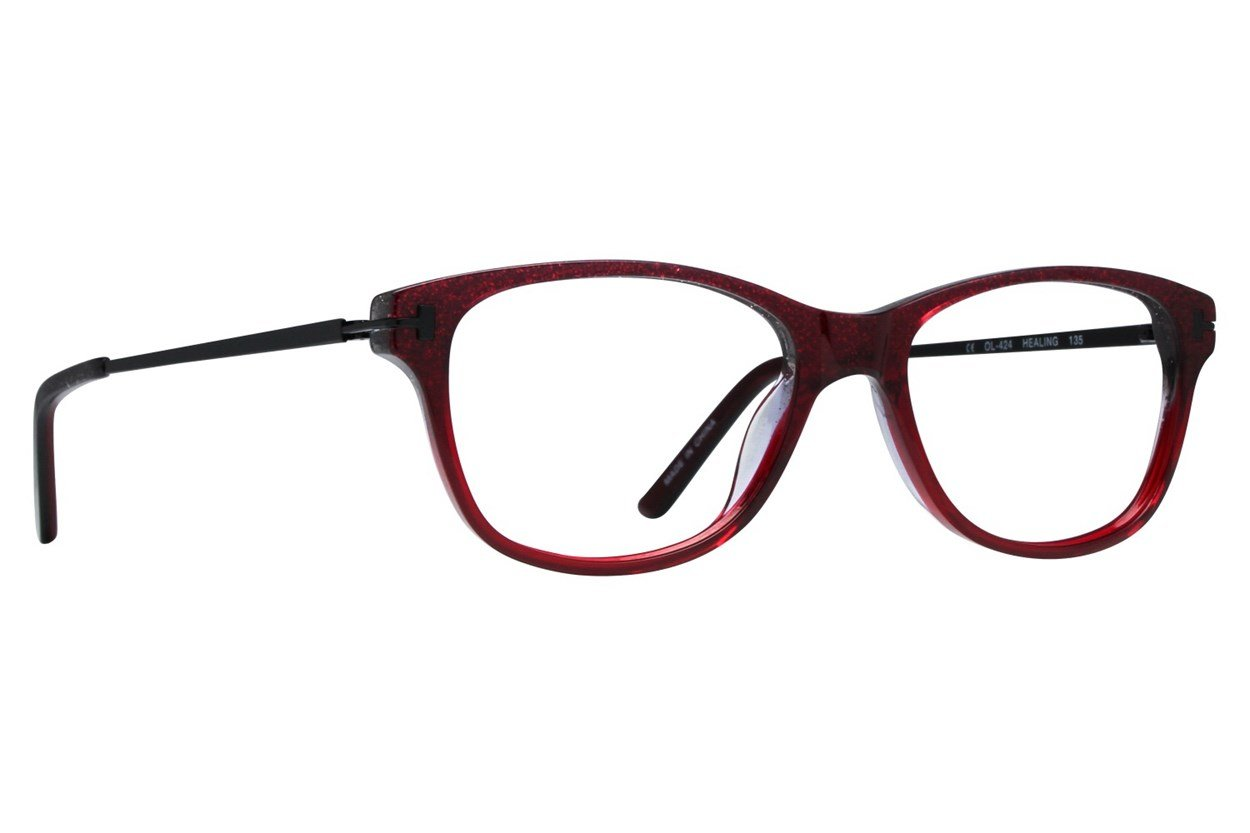 One Love Petite Healing Red Glasses