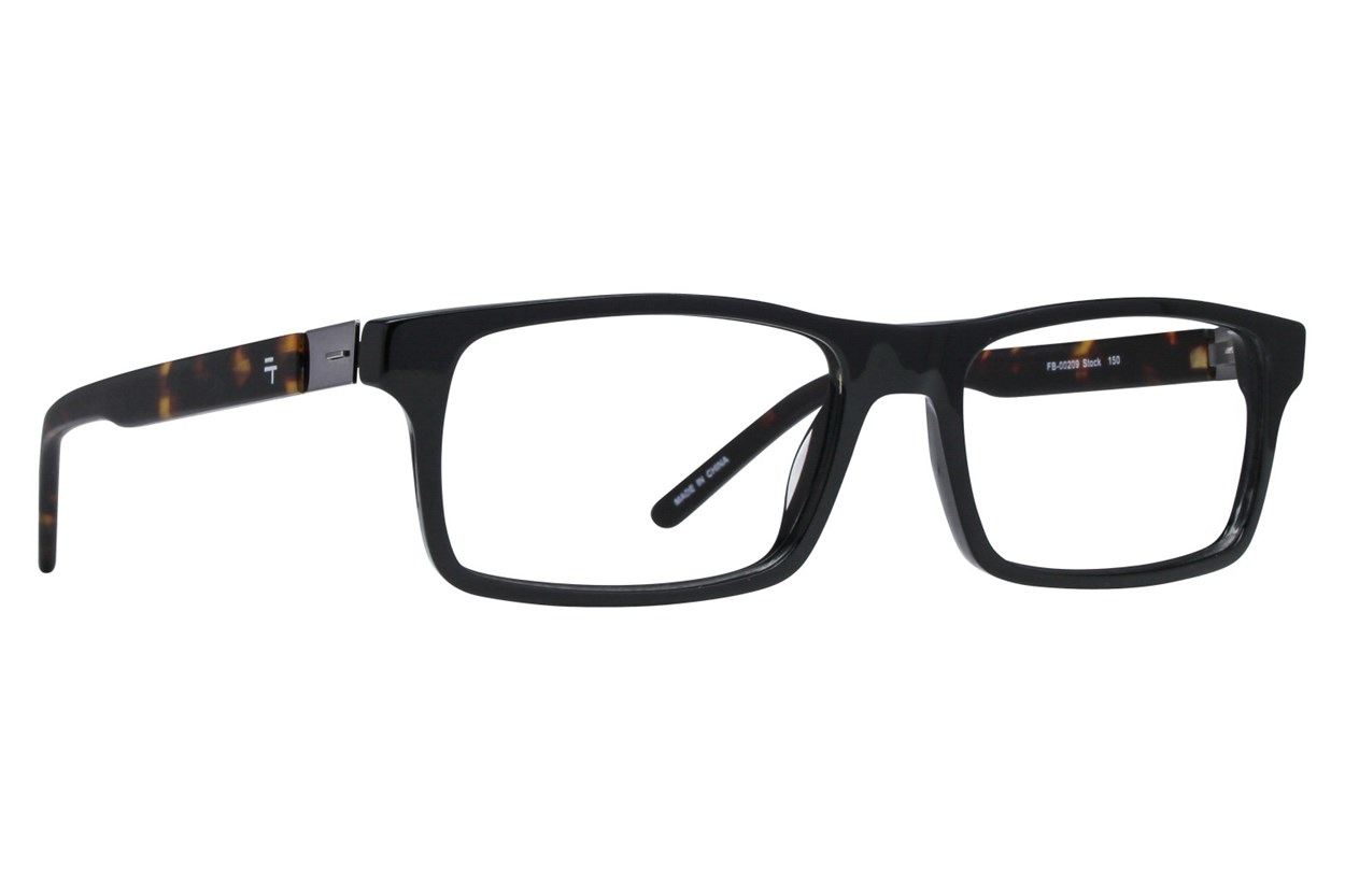 Fatheadz Stock Black Glasses