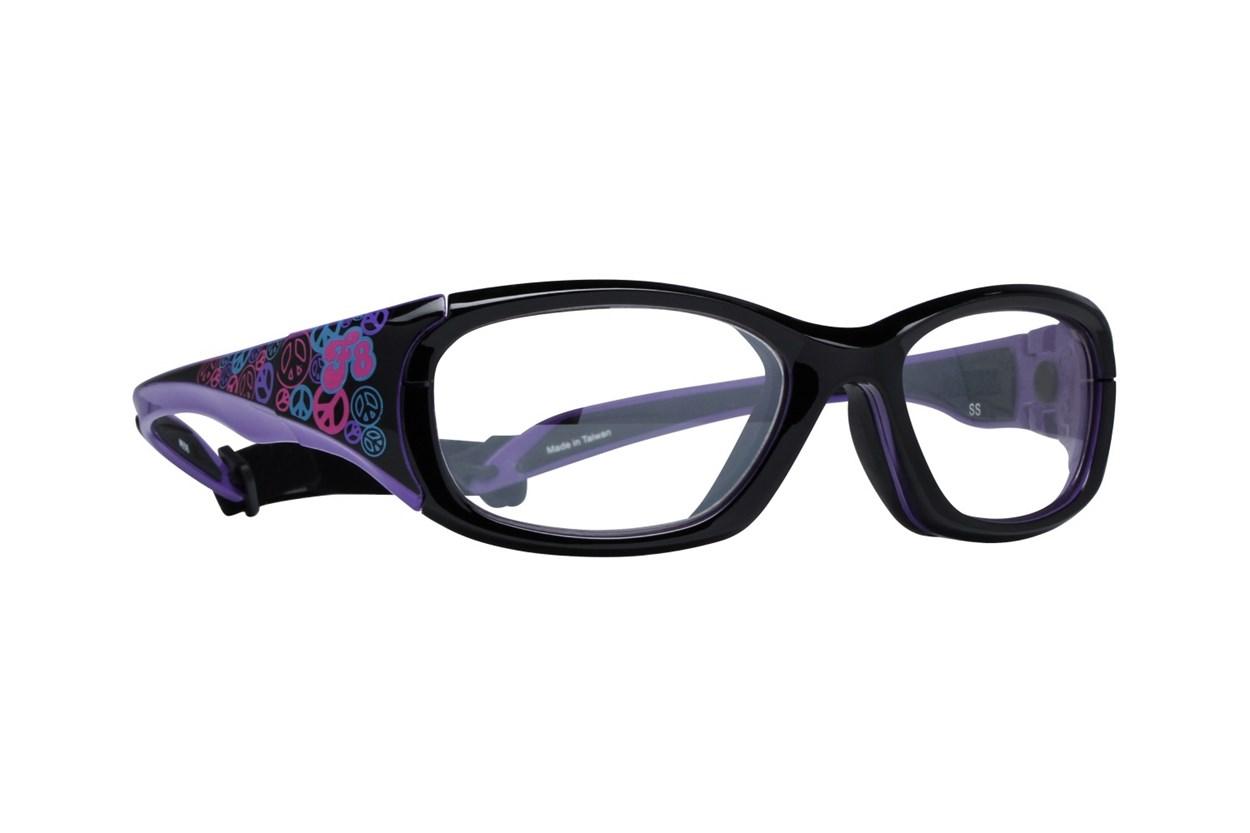 Rec Specs F8 Street Series (53) Black Glasses