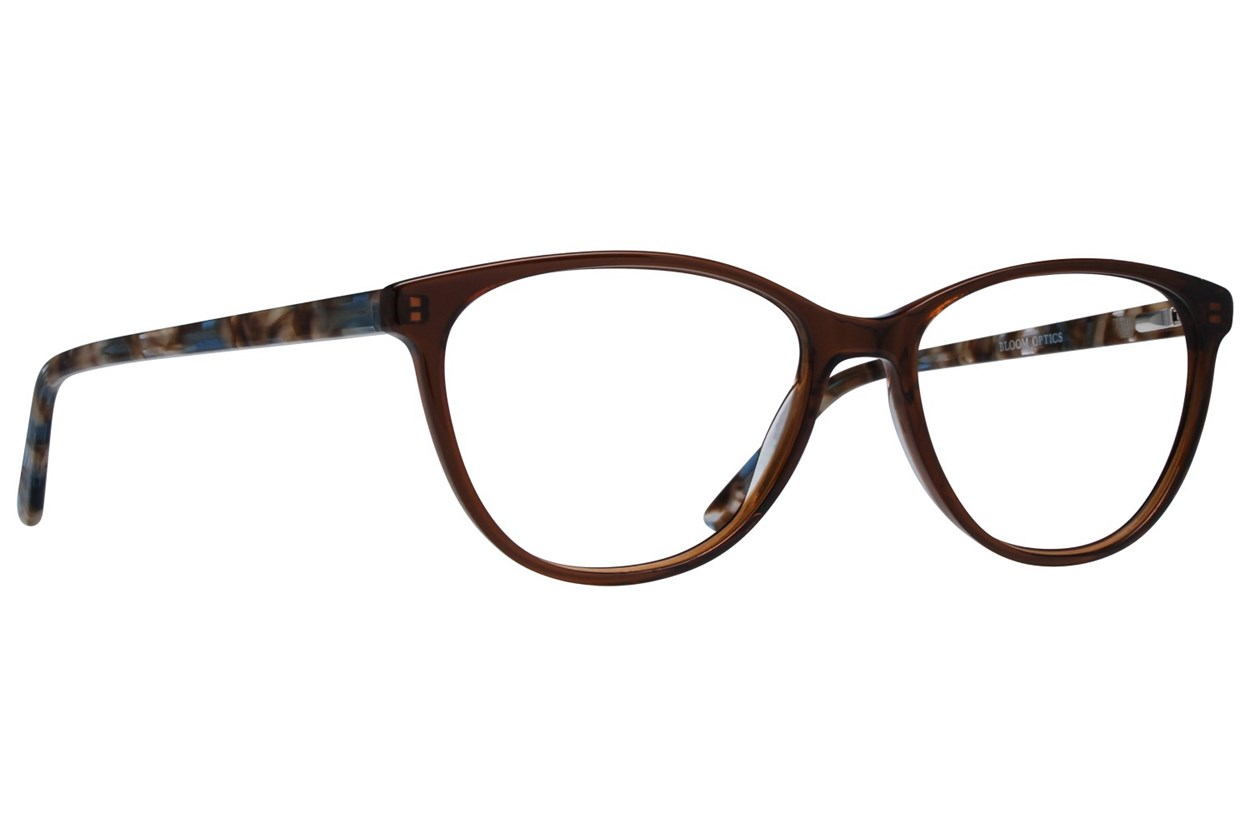 Bloom Optics Boutique Ava Brown Glasses