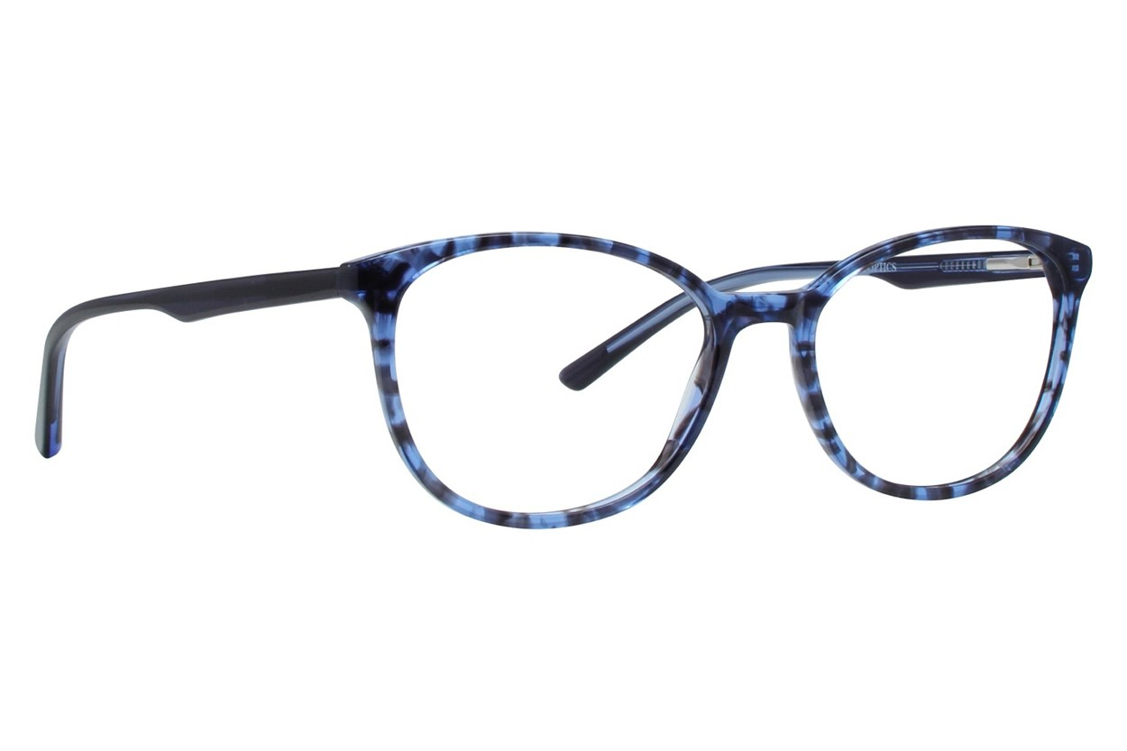 Bloom Optics Petite April Blue Glasses