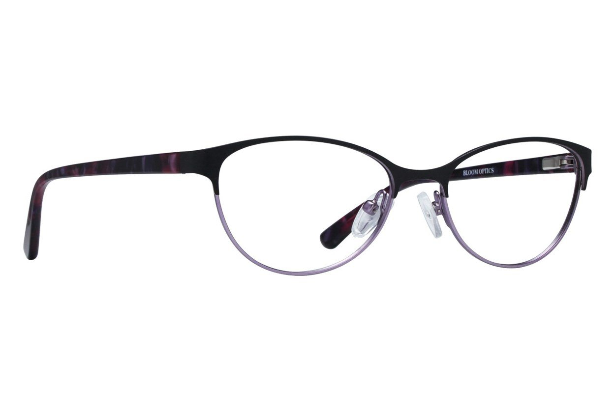 Bloom Optics Petite Daisy Black Glasses