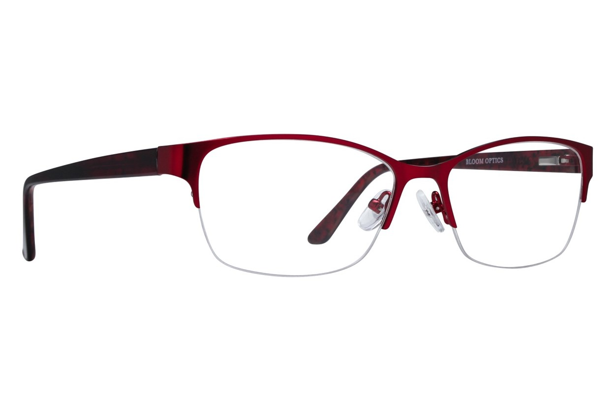 Bloom Optics Boutique Carrie Red Glasses